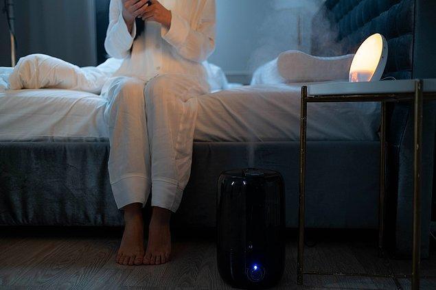 8. Evinize bir hava temizleme cihazı alın.