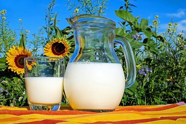 1. Tam yağlı süt daha iyi tutar.