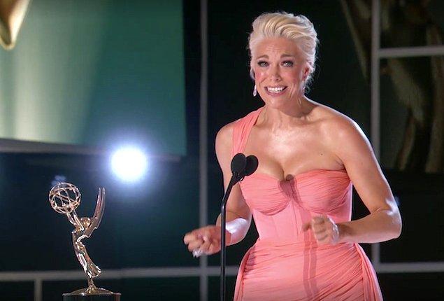 4. 'Ted Lasso'nun yıldızına verilen 'En İyi Yardımcı Kadın Oyuncu' ödülü tabii ki hepimizi etkiledi.