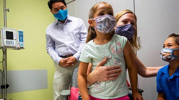 Pfizer Duyurdu: Koronavirüs Aşısı 5 -11 Yaş Arasındaki Çocuklarda Güvenli ve Etkili