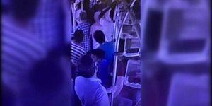 Metrobüste Maske Uyarısı Yaptı, Kör Oldu