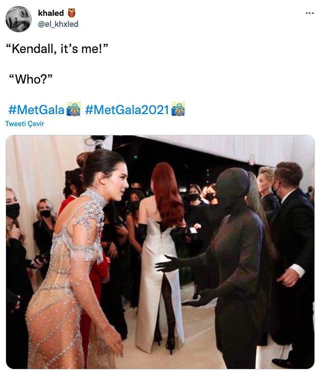 "11. ""Kendall benim!""         ""Kim?"""