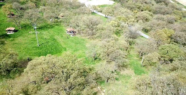 6. Açık havanın tadını çıkarmak isteyenlere Balat Ormanı...