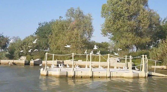 10. İstanbullu Gelin dizisinin romantik sahnelerine ev sahipliği yapan Gölyazı Köyü...