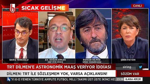 Rıdvan Dilmen: 'İlk Defa Açıklayayım Benim Muvafakatnamem var, TRT'den Hiç Bir Maddi Talebim Yoktur Diye'