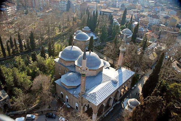 12. Bursa'da Osmanlı sultanları tarafından son yapılan külliye olan Muradiye Külliyesi...