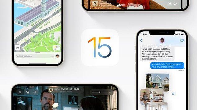 Öncelikle iOS 15 güncellemesini yapabilecek iPhone modelleri şu şekilde;