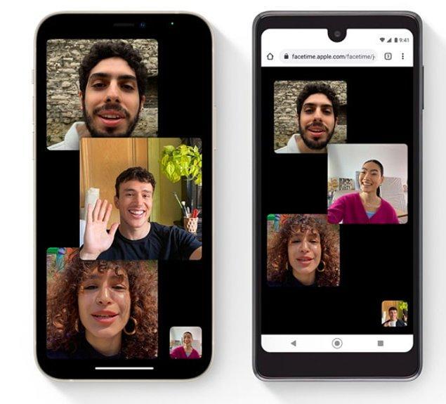 1. Apple'ın görüntülü konuşma programı FaceTime, artık Windows ve Android kullanıcılarının da erişimine açılacak!