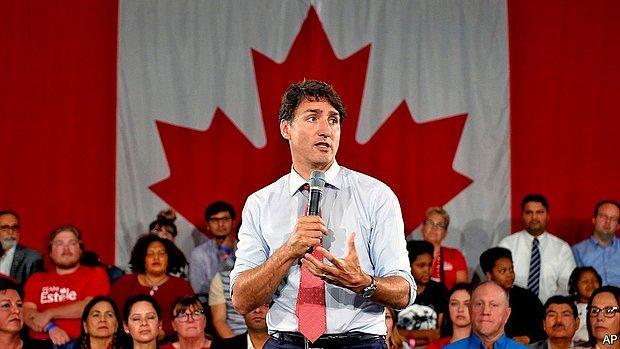 Tek Başına Hükümeti Kuramıyor! Kanada'da Seçimin Galibi Trudeau