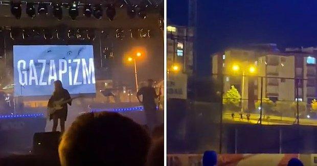 Gazapizm, Konserini Dışarıdan İzleyenleri İçeriye Davet Etti