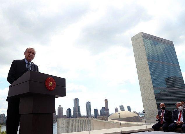 New York'ta Birleşmiş Milletler Daimi Temsilciliği ile New York Başkonsolosluğunun bulunacağı Türkevi'nin açılışı Cumhurbaşkanı Recep Tayyip Erdoğan ve Emine Erdoğan'ın katılımıyla gerçekleşti.
