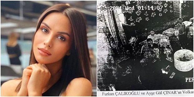 Furkan Çalıkoğlu ile Oyuncu Sevgilisi Ayşegül Çınar'ın Davası: Kamera Görüntülerinde Darp Ortaya Çıktı...
