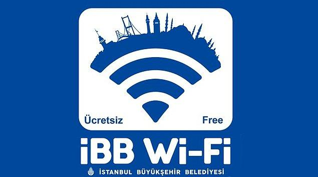 10. Ücretsiz İnternet artık her yerde.