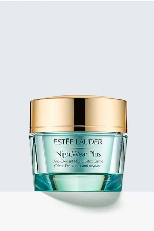 2. Estee Lauder Nemlendirici Gece Kremi - NightWear Night Creme