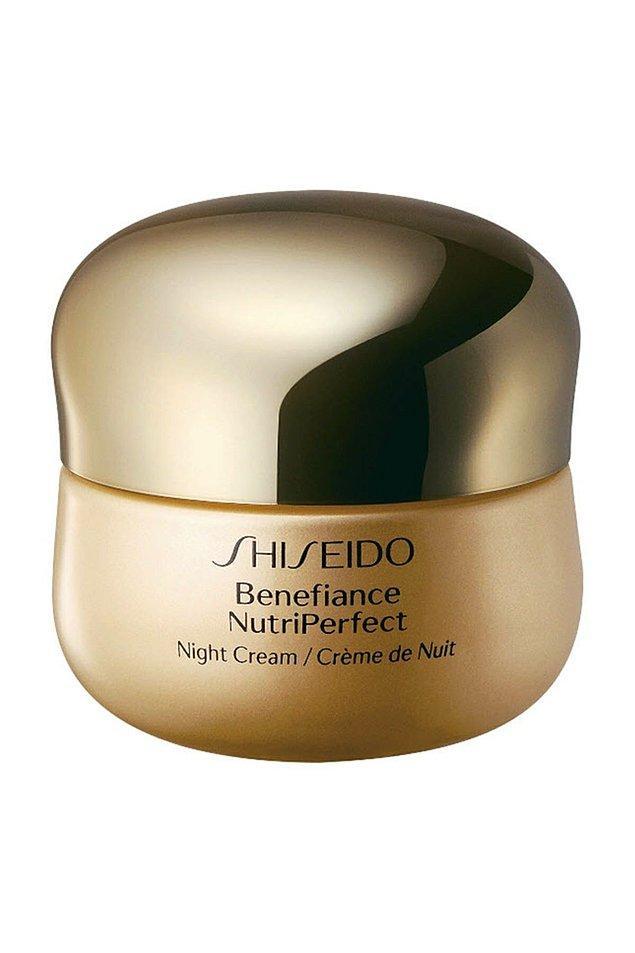 5. Shiseido Yenileyici Etkili Gece Kremi - Benefiance Nutri Perfect Night Cream