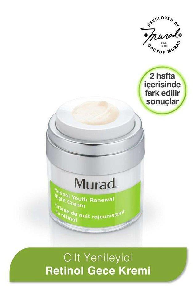 13. Murad Retinol Gece Nemlendiricisi - Retinol Youth Renewal Night Cream