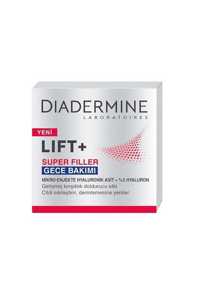 19. Diadermine Lift+ Super Filler Gece Kremi