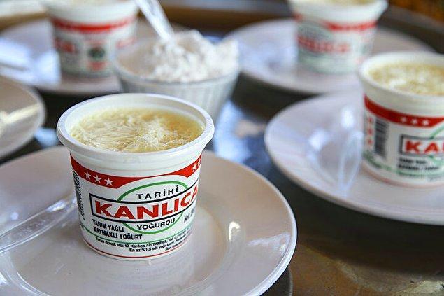 5. Her sütten yoğurt olur ama Kanlıca yoğurdu olmaz...