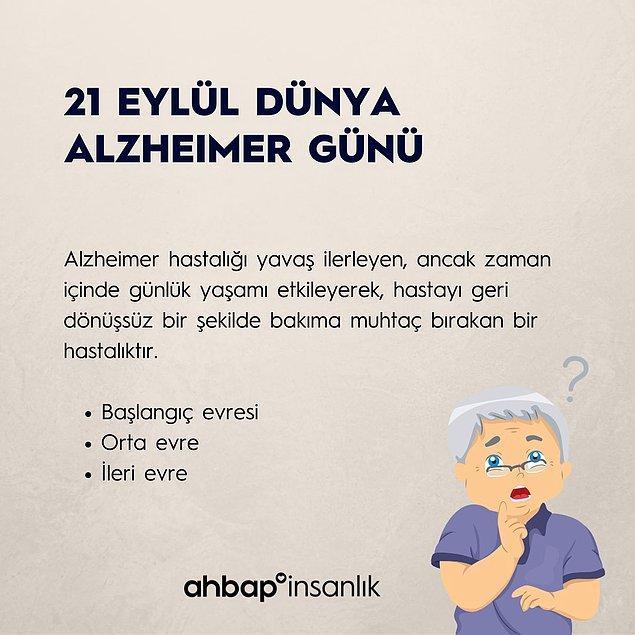 Peki Alzheimer nedir?