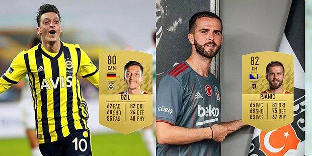FIFA 22'de Süper Lig'in En İyi 13 Oyuncusu Belli Oldu! Zirvenin Sahibi Pjanić!