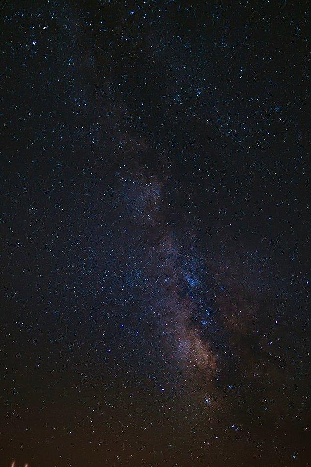 14. En uygun görüş koşullarında bile gökyüzünde görebileceğimiz yıldız sayısı 4.548'dir.