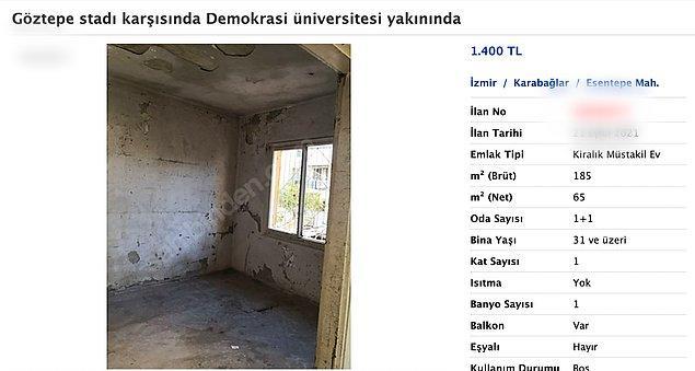 İlan İzmir'e bağlı Karabağlar ilçesinden.