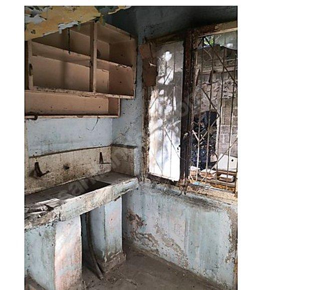 Mutfak ise tamamen retro dizayn!