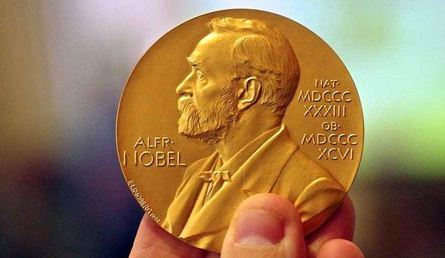 İlk olarak Nobel Barış Ödülünü açıklayalım