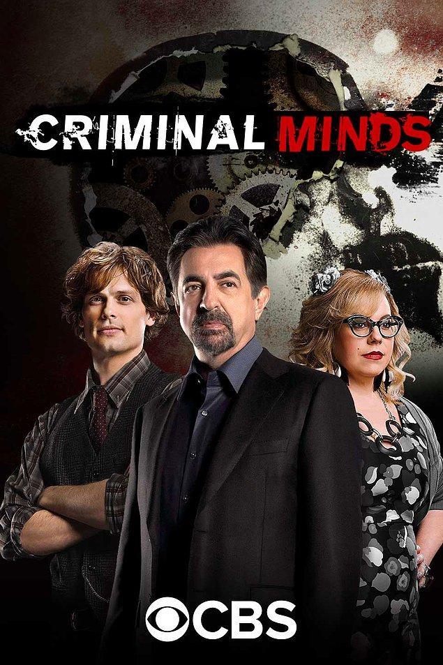 9. Criminal Minds - IMDb: 8.1