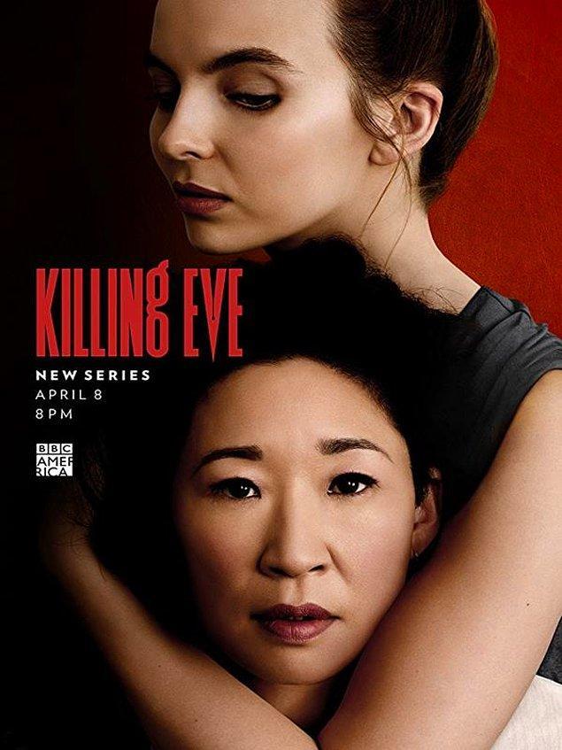 7. Killing Eve - IMDb: 8.2
