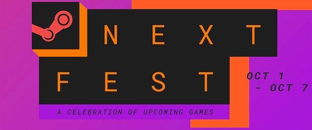 Steam Next Fest bu kez 1-7 Ekim tarihleri arasında oyuncularla buluşacak.
