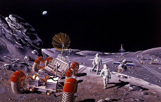 Son yıllarda Dünya gündeminin önemli maddelerinden biri de Ay'da insan varlığını kalıcılaştırma konusuydu.