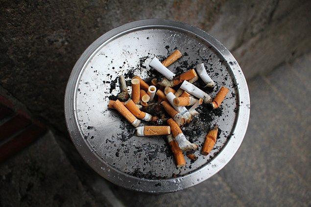 9. Sigara filtreleri,  toksinleri filtreliyormuş gibi görünmeleri için renk değiştiren kimyasallarla renklendirilir. Oysa filtrelerin sağlığa yararlı tek bir yanı yok.