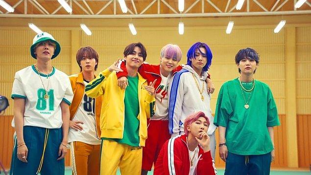 5. İngilizce şarkılarıyla artık sadece K-Pop dinleyicisinin değil, popüler müzik dinleyicisinin de radarında BTS.