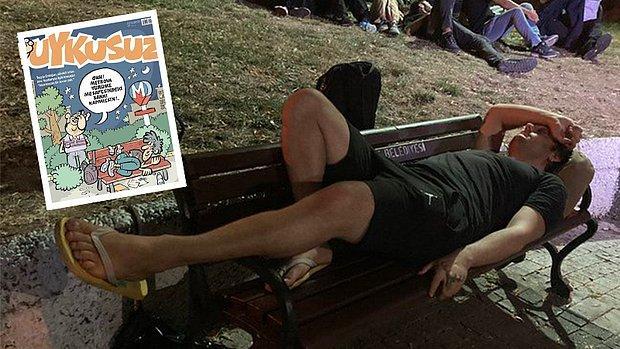 'Barınamayanlar' Uykusuz'un Kapağında: 'Ohh, Metroya Yürüme Mesafesindeki Bankı Kapmışsın'