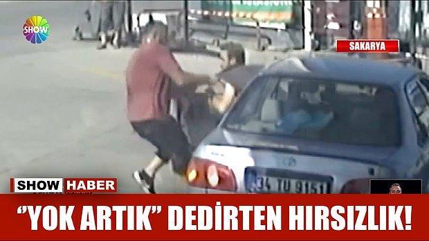 Sakarya'da GTA Tarzı Araba Hırsızlığı: Kendi Otomobilinden Yaka Paça Dışarı Atıldı