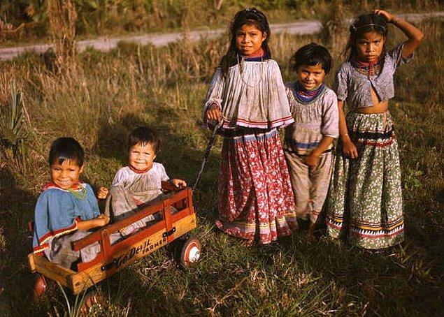 21. Kumarhanelerin bolluğu yüzünden her doğan Seminoleli Hindistanlı çocuklar, 18 yaşına bastıklarında multimilyoner oluyor.