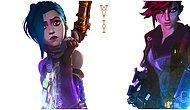 Merakla Beklenen League of Legends Dizisi Arcane'den Göz Kamaştıran Karakter Afişleri Geldi