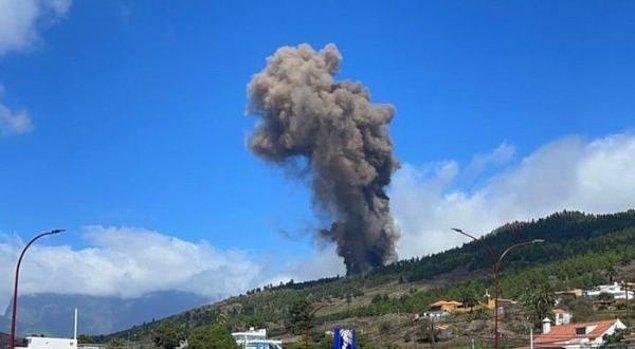 Bölgede yaşayan insanların hızla bölgeden ayrılarak yanardağın aktif hale gelmesinden sonra ortaya çıkan sarsıntı, lav ve dumandan kaçınmaya çalıştığı biliniyor.