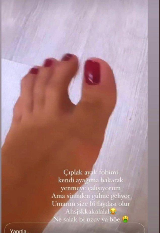 6. Şu ayaklarınızı atmayın artık yeter valla!