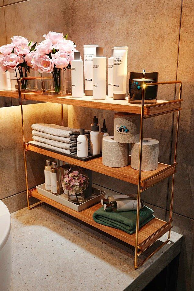 8. Bino masa üstü düzenleyici ile banyonuza, mutfağınıza hatta odanıza bile farklı hava katabilirsiniz...