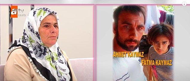 Geçtiğimiz gün Melahat Oruç, %45 engeli bulunan 19 yaşındaki kızı Fatma için Esra Erol'a başvurdu. Oruç, kızının Temmuz ayında evli ve 2 çocuk babası olan Ahmet isimli birine kaçtığını ve kaçtıktan sonra da bu adamla resmi nikah kıydıklarını iddia etti.