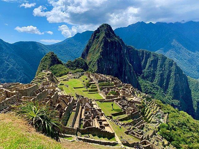 1. Machu Picchu, Peru