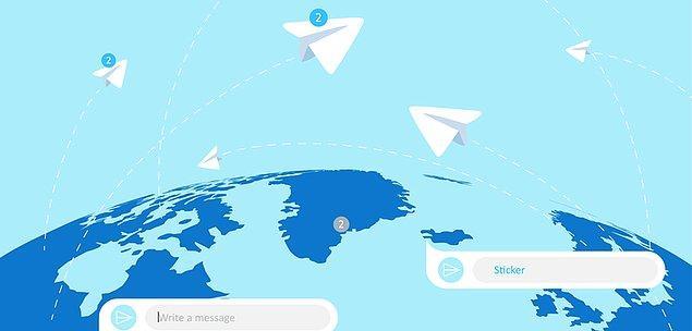 Whatsapp'ın sallanan tahtından faydalanıp kendini iyice yenileyen Telegram, hiç de fena olmayan özelliklerle kendini epey geliştirmiş.