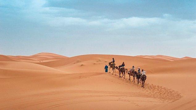 12. Sahra Çölü, Fas