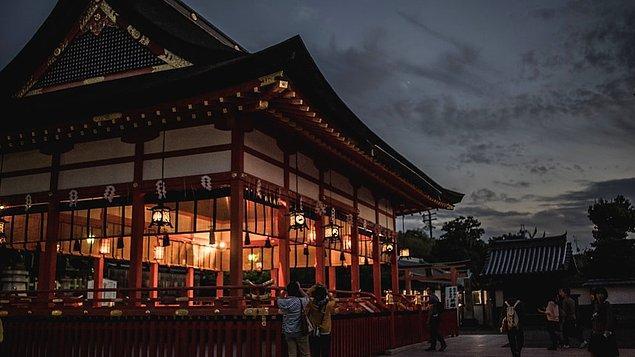 17. Fushimi Inari Tapınağı, Kyoto