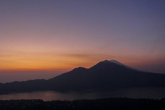 19. Batur Yanardağı, Endonezya