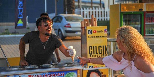 Tezgahın Arkasında Yaptığı Çılgın Dansları ile Fenomen Olan TikTok'un 'Çılgın Dondurmacı'sı: Mehmet Dinç
