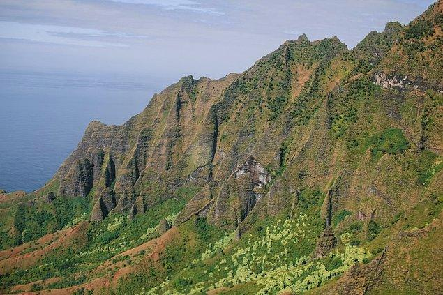 27. Na'Pali Coast Eyalet Parkı, Kauai