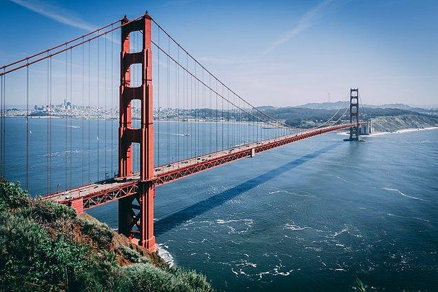 29. Golden Gate Köprüsü, San Francisco